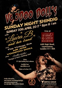 Voodoo Dolls Sunday Shindig s